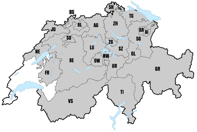 rankenkasse agrisano bietet-das Hausarztsystem in folgenden Kantonen an